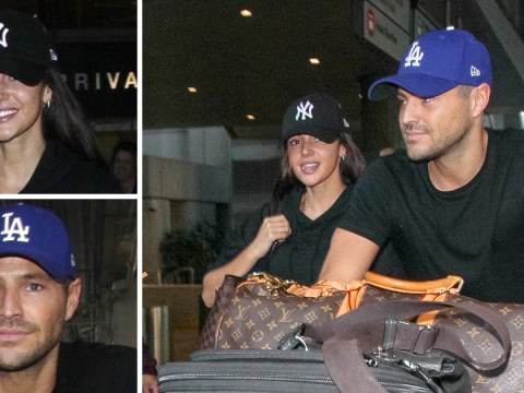 Mark Wright takes Michelle Keegan back to Hollywood but don't expect her to move there