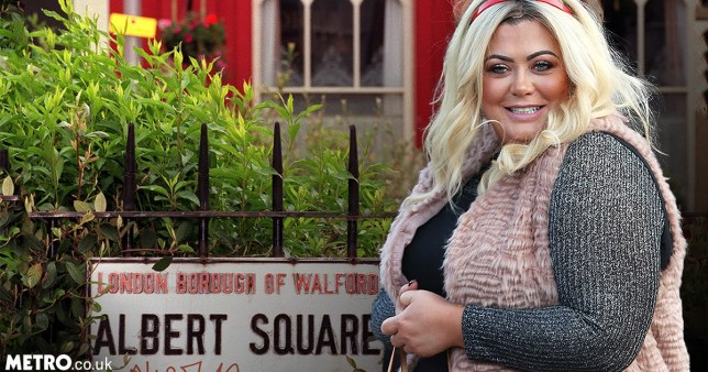 Gemma Collins fancies herself on EastEnders