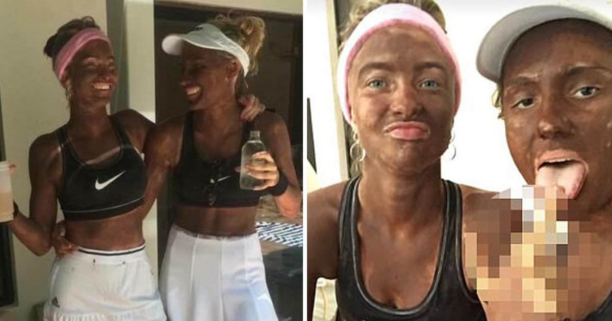 Model Sophie Applegarth defends blackface costumes as 'praise' for Venus and Serena Williams