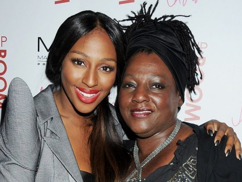 Alexandra Burke can feel her late mum's presence when she sings