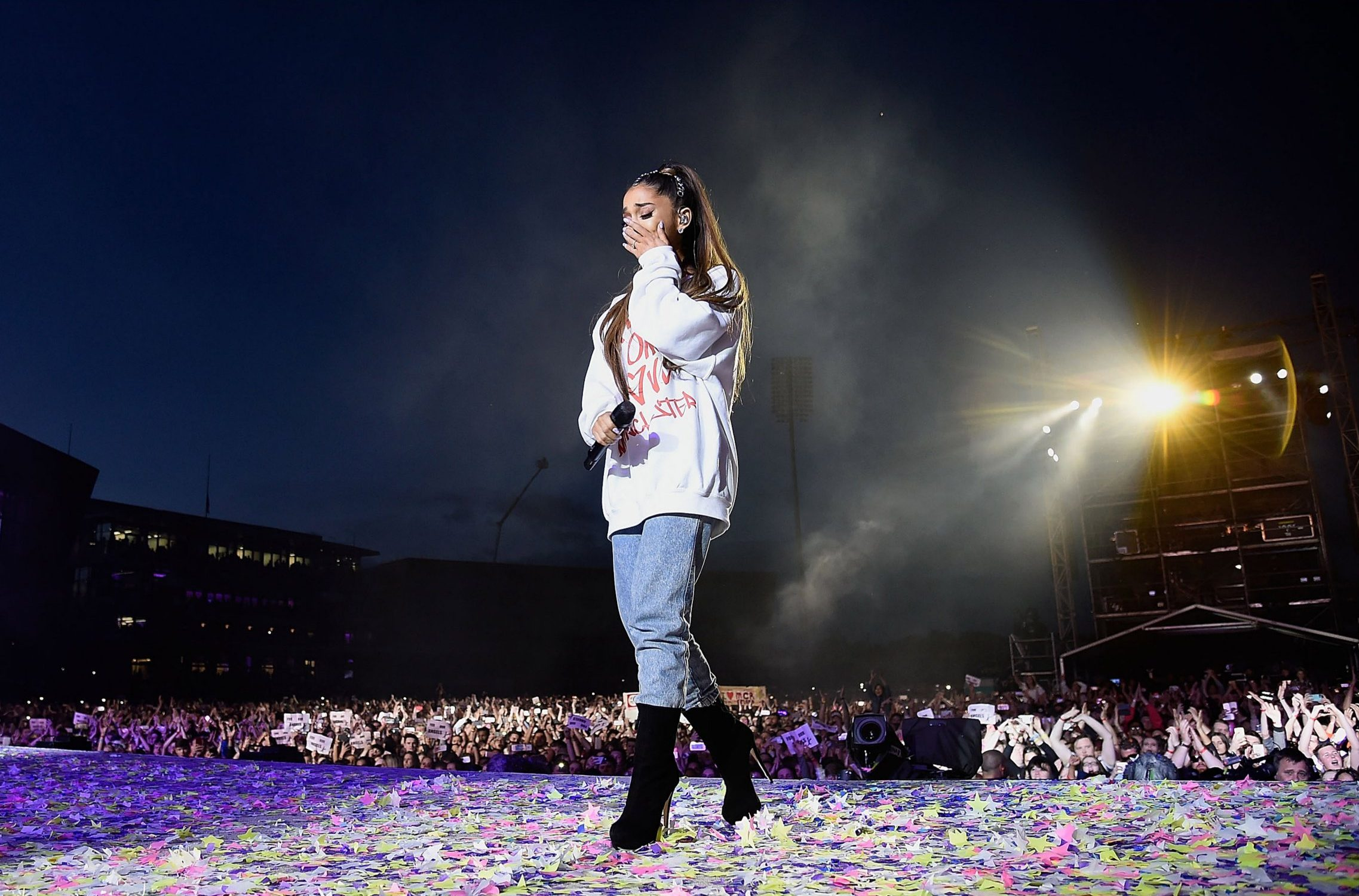 Ariana Grande 'suffered trauma' and 'cried for days' after Manchester Arena attack