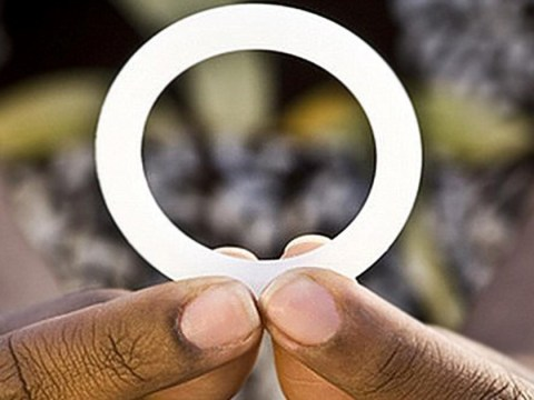 Secret vagina ring that helps protect women from getting HIV