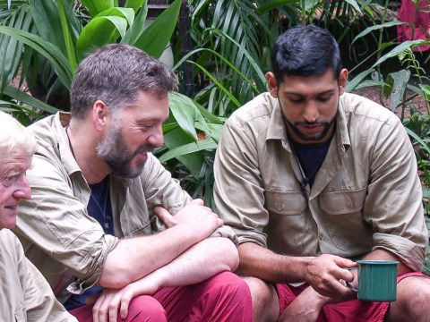 Amir Khan tells Iain Lee 'You did f**k a lot of things up' in controversial I'm A Celeb scenes