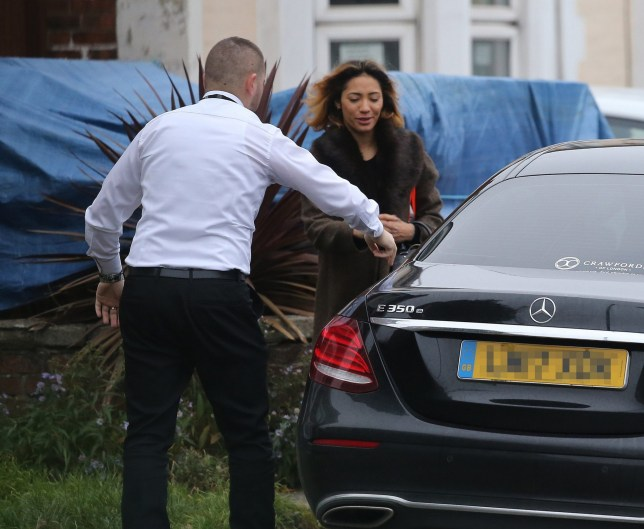 Karen Clifton Heads Out From Her House Closely Followed By Rumoured New Lover Stuart Wood