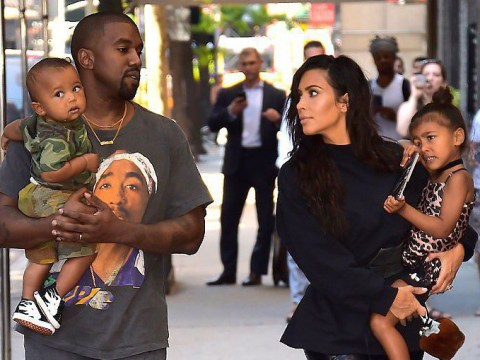 Kim Kardashian and Kanye West await arrival of third baby as their surrogate prepares to give birth 'any day now'