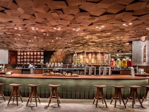 World's biggest Starbucks opens in Shanghai