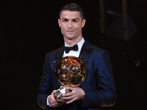 Cristiano Ronaldo beats Lionel Messi and Neymar to win the 2017 Ballon d'Or