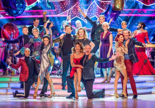 The Strictly Come Dancing Christmas special 2017 line-up