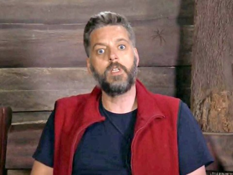 I'm A Celeb viewers are freaking out after spotting a giant spider behind Iain Lee's head