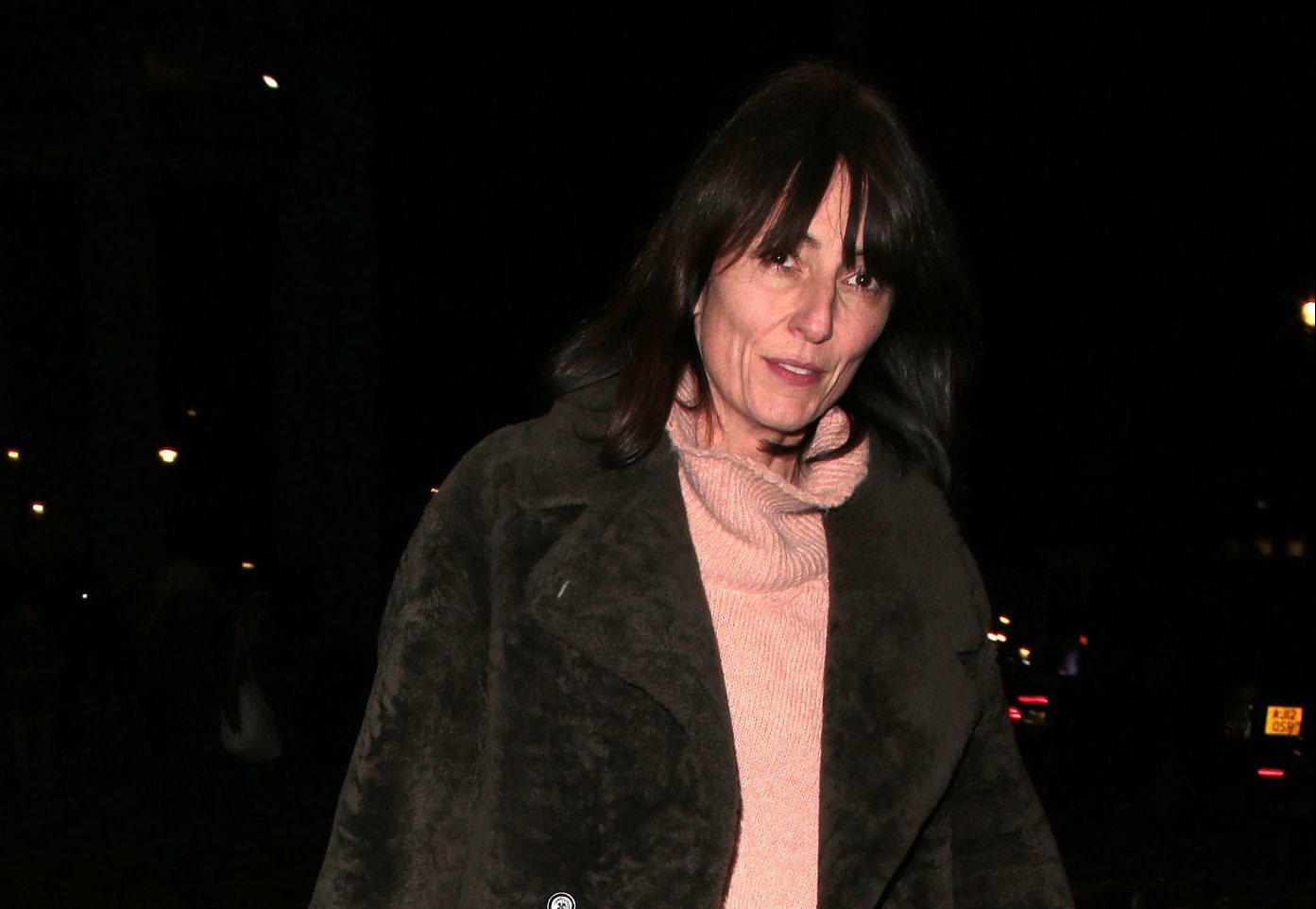Davina McCall gets into Christmas spirit with carol concert amid marriage woes