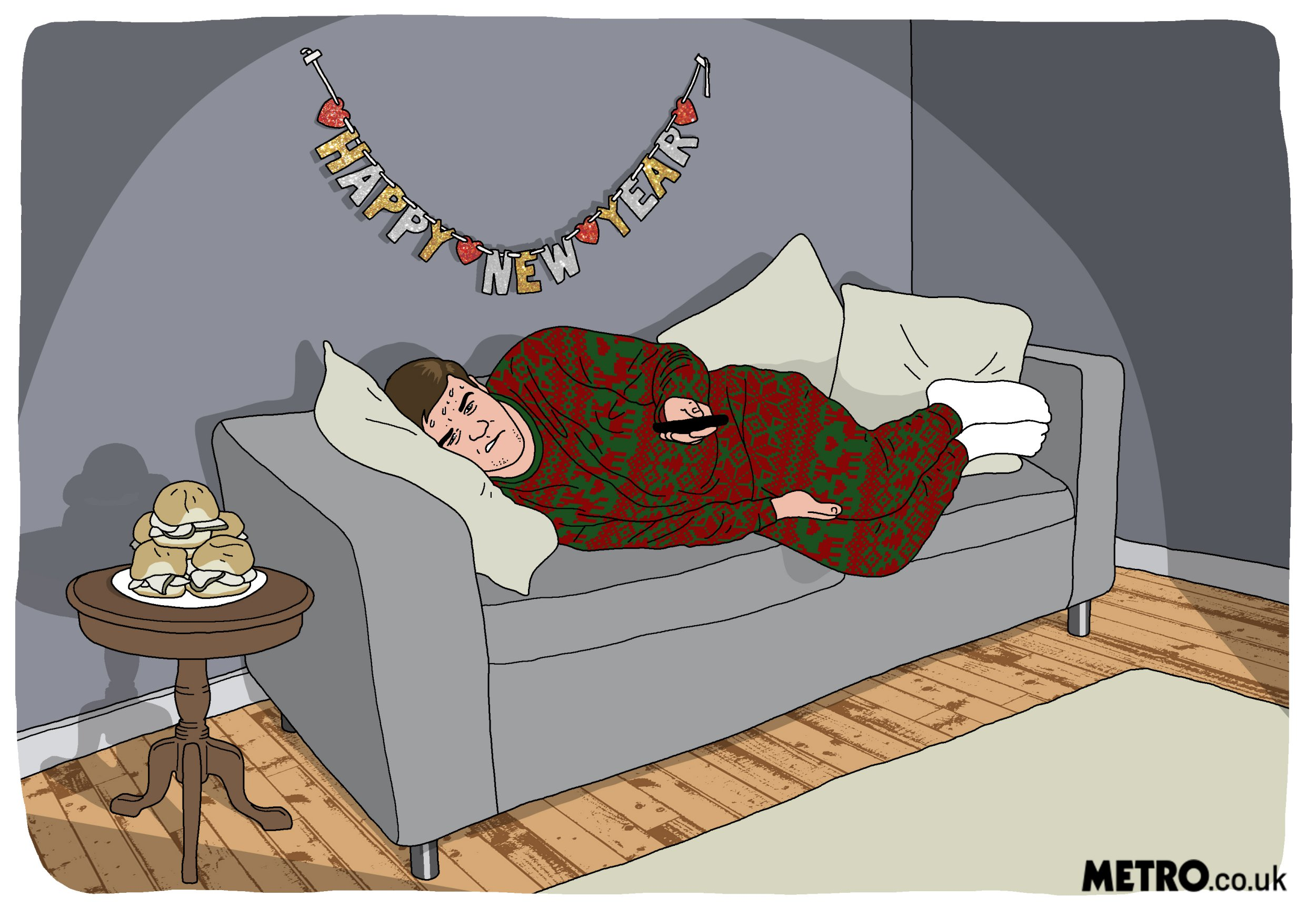 The perfect way to spend your New Year's Day (Mike Williams)