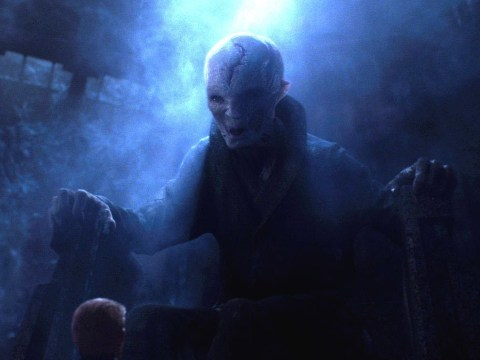 Who is Supreme Leader Snoke, where did he come from and when did he appear in the Force Awakens?