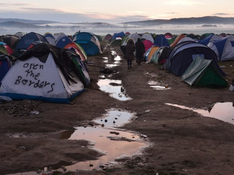 Women in refugee camps wear nappies to stop them being sexually assaulted