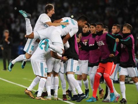 Video: Real Madrid star Casemiro almost breaks his neck celebrating Cristiano Ronaldo's winner