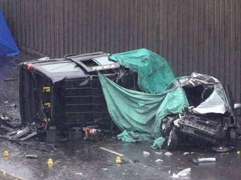 Audi involved in crash which killed six 'may have been racing' witness claims