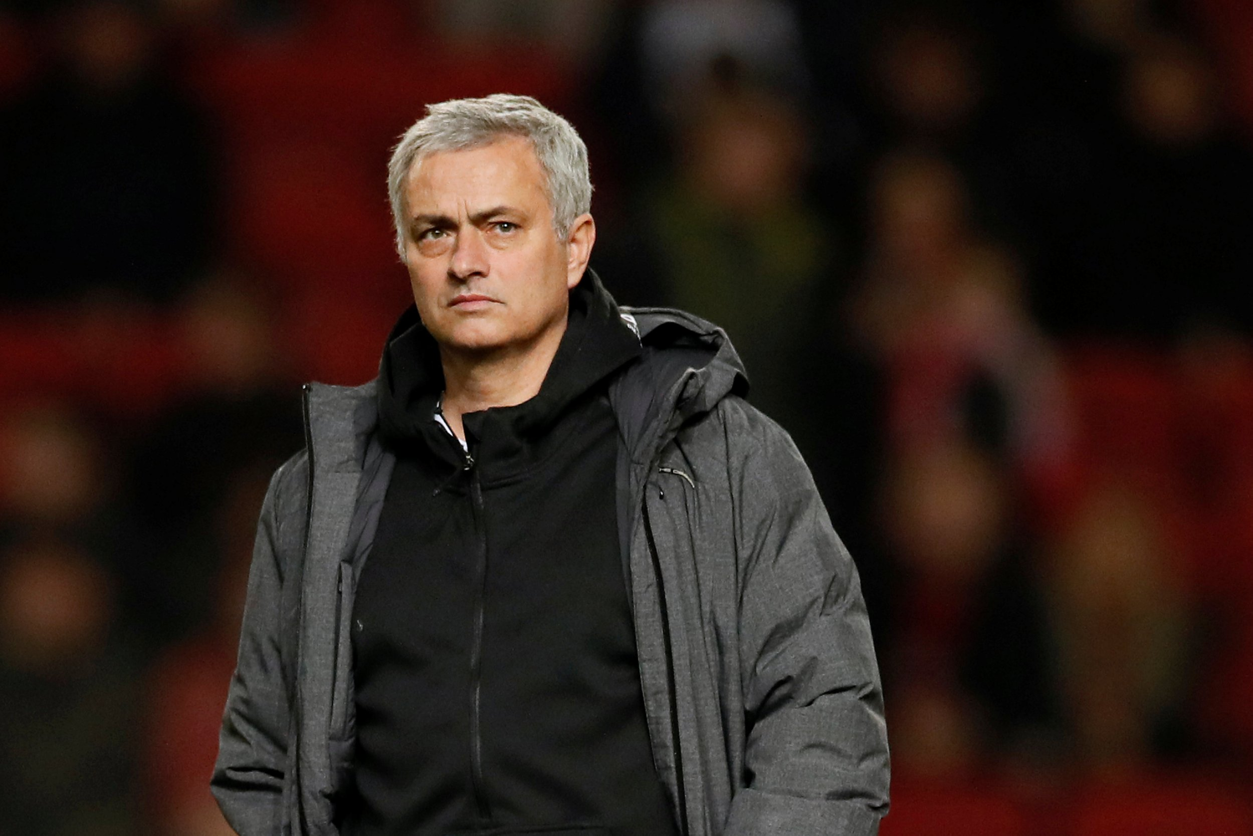 Jose Mourinho entered Bristol City's dressing room after Manchester United's shock Carabao Cup exit