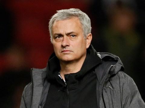 Jose Mourinho entered Bristol City's dressing room after Manchester United's shock Carabao Cup exit