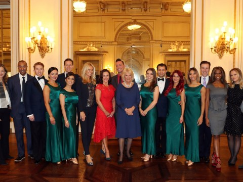 Strictly's dancers get a royal welcome as they take the show to Buckingham Palace
