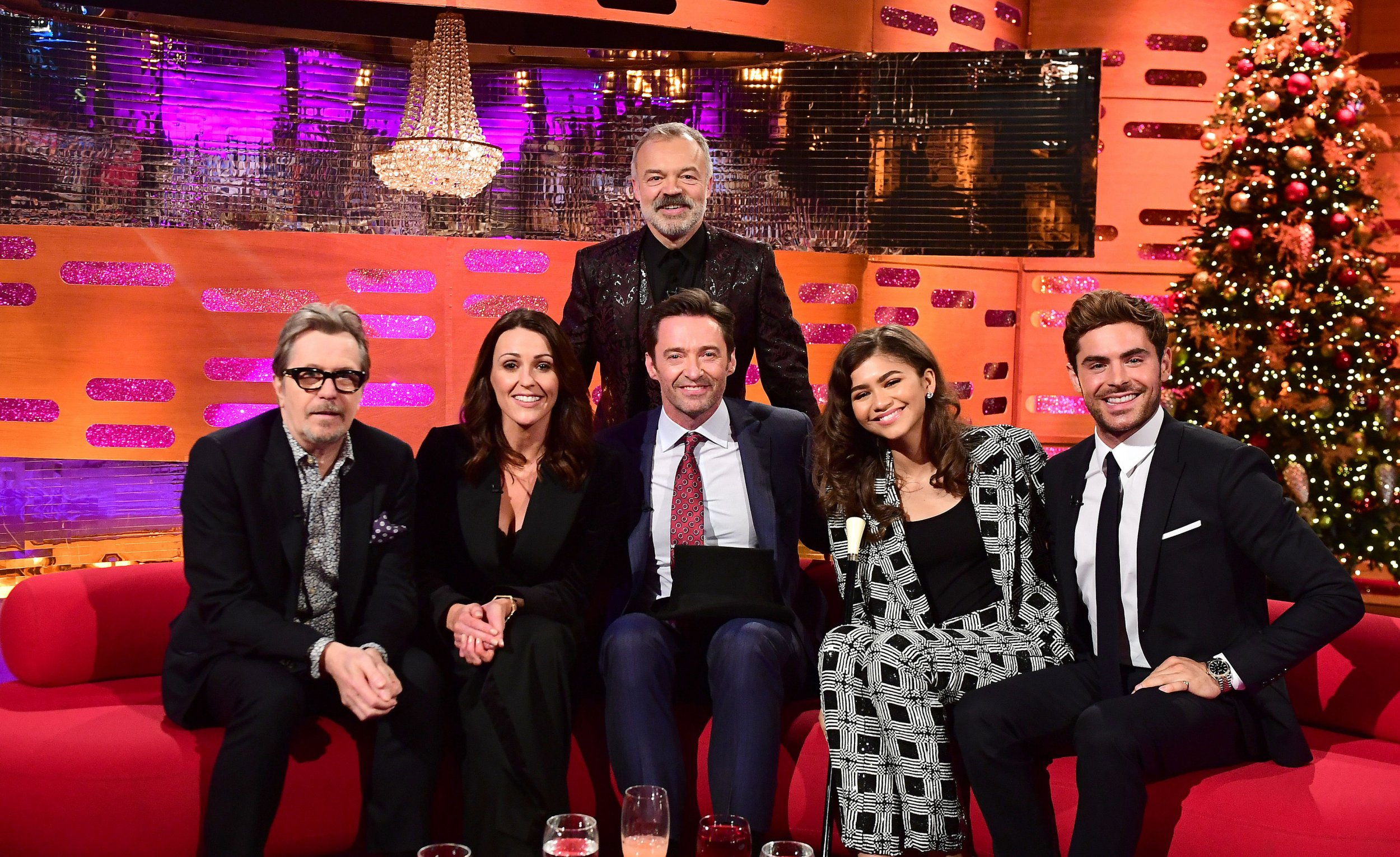Who is on The Graham Norton Show New Year's Eve special?