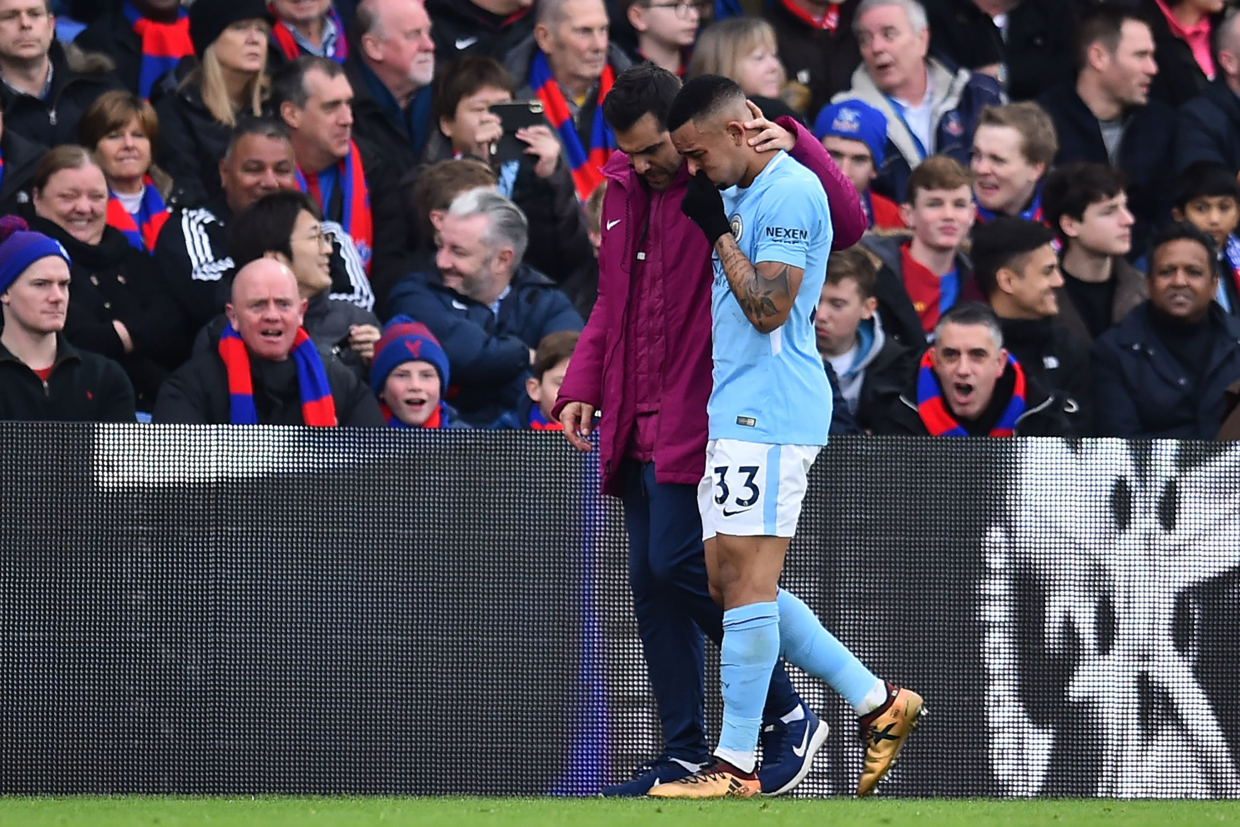 Pep Guardiola sets comeback date for Manchester City forward Gabriel Jesus