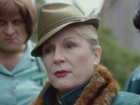 Jennifer Saunders plays evil villain Miss Dandy in first look at TV adaptation of Grandpa's Great Escape