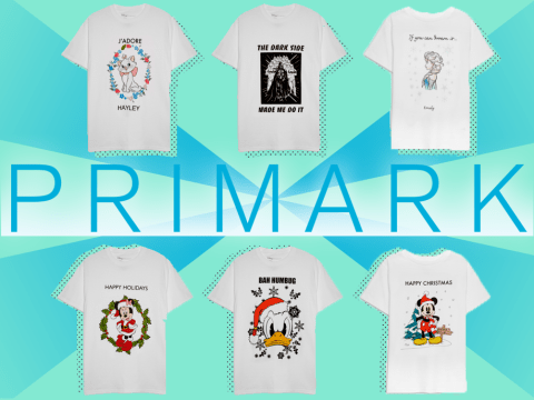 Primark has opened a customisation station so you can design your own t-shirts