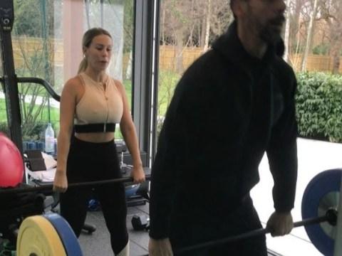 Rio Ferdinand pretends to break wind in front of mortified girlfriend in video