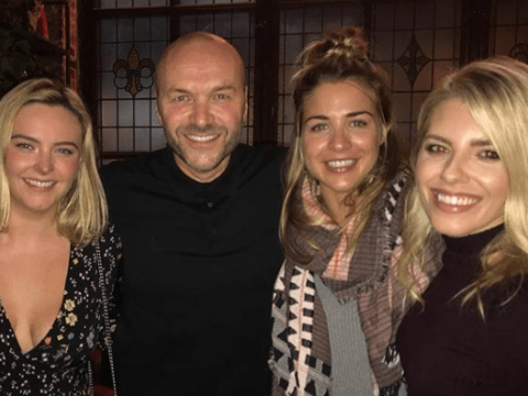 Strictly's Simon Rimmer parties with Gemma Atkinson after laughing off 'one night stand' rumours