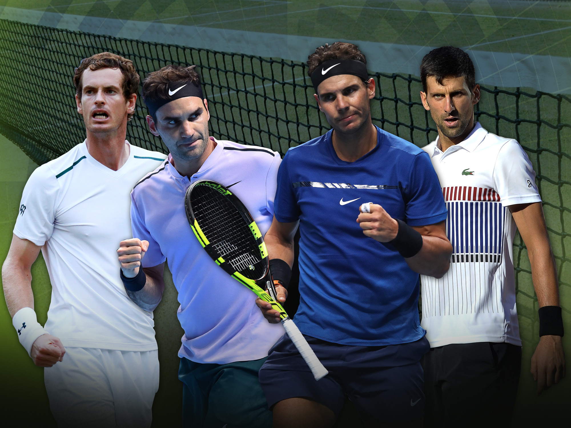 Will Federer & Nadal rule again? How good will Murray & Djokovic be? Five ATP narratives to watch out for in 2018