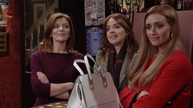 Eva is worried about her pregnancy in Coronation Street