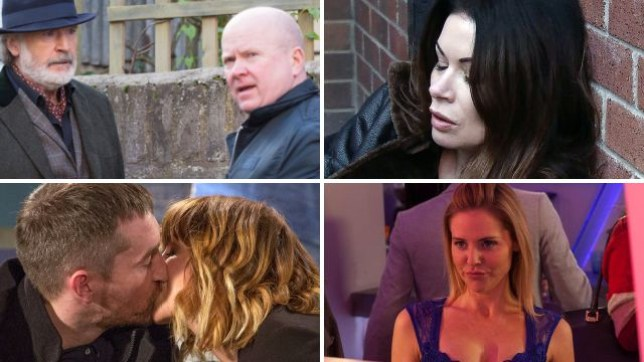 Soap spoilers for Phil and Aidan in EastEnders, Carla in Coronation Street, Pete and Rhona in Emmerdale and Cindy in Hollyoaks