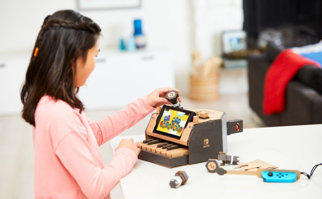 Nintendo Labo - celebrating the physical side of video games