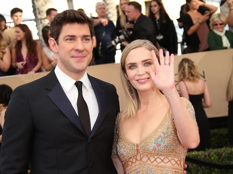Emily Blunt's friends told her she'd be divorced from husband John Krasinski after making A Quiet Place together