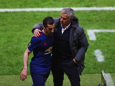 Henrikh Mkhitaryan had a problem with Jose Mourinho, says Armenia coach
