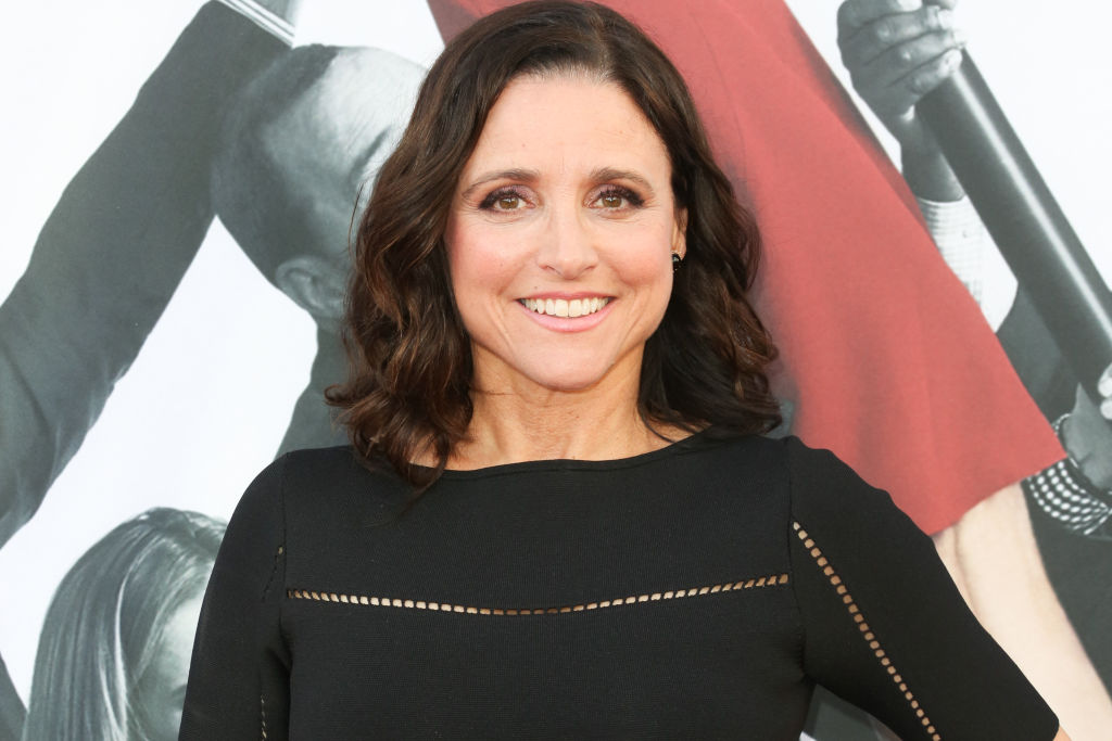 Veep's Julia Louis-Dreyfus watches SAG awards win 'in PJs' as she skips ceremony following chemotherapy