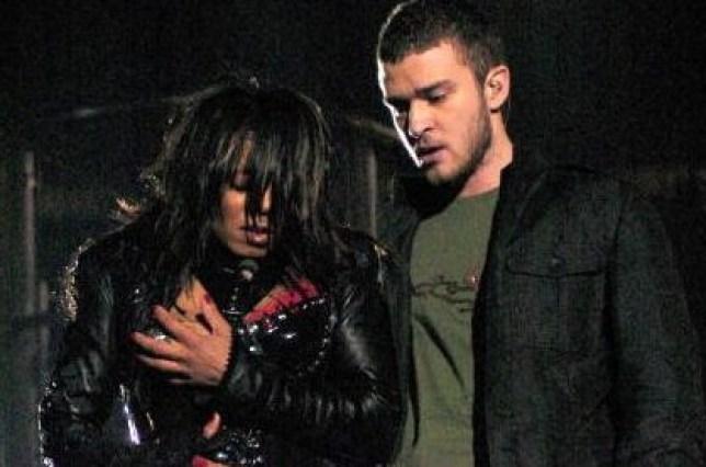 Janet Jackson and Justin Timberlake Super Bowl