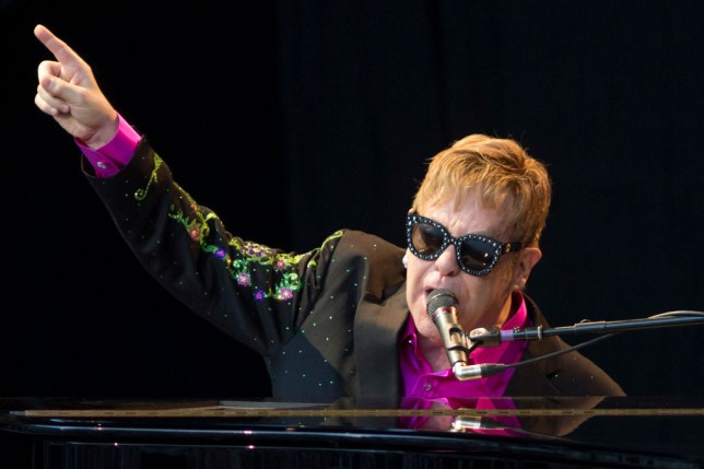 Elton John songs – his seven UK number one hits including Candle In