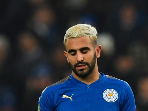 Riyad Mahrez misses Leicester training again and won't play against Manchester City
