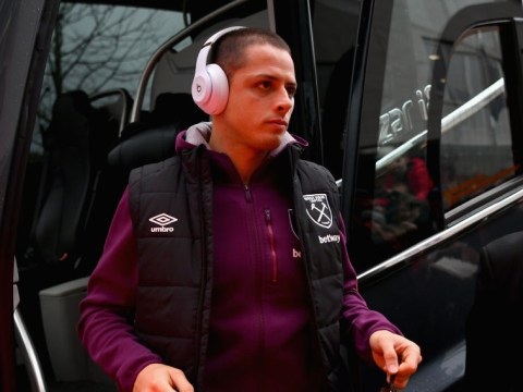 West Ham open to January offers for ex-Manchester United striker Javier Hernandez