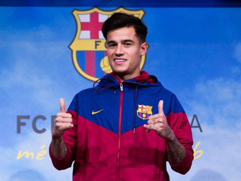Chelsea stars David Luiz and Willian congratulated Philippe Coutinho after completing Barcelona transfer