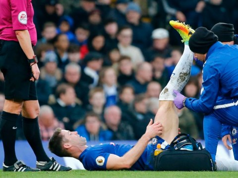 Antonio Conte delivers 'good news' update on Gary Cahill injury