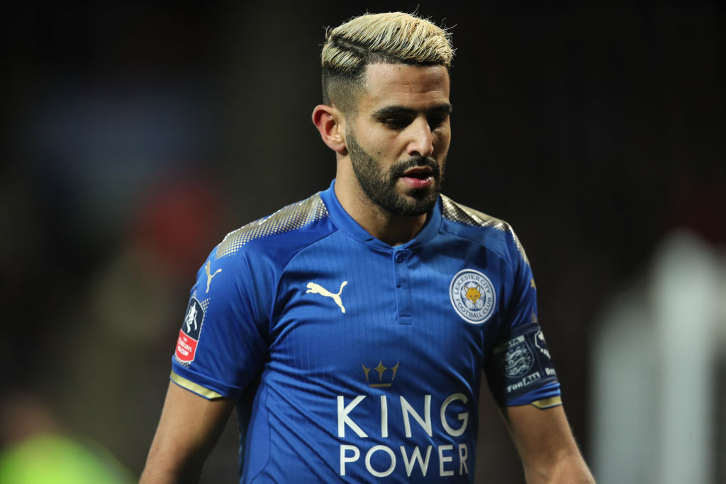Riyad Mahrez urged to consider leaving Leicester City for Arsenal or Chelsea