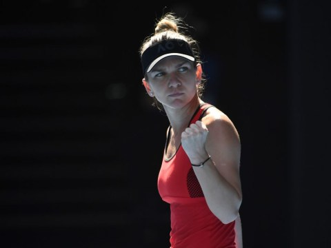 Simona Halep sets up Australian Open final with Caroline Wozniacki after saving match points v Angelique Kerber