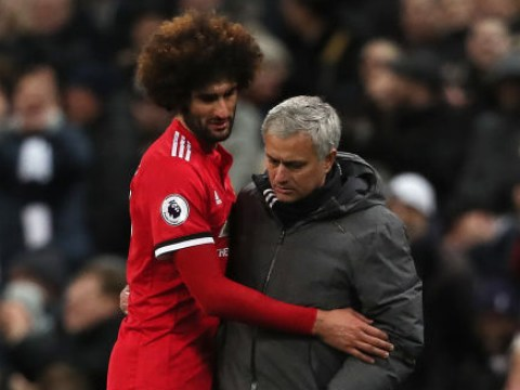 The real reason Marouane Fellaini was substituted in Manchester United's defeat to Tottenham