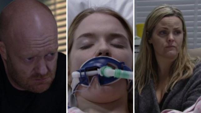 Max and Tanya heartbroken as Abi dies in EastEnders
