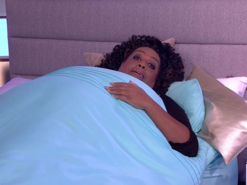 Alison Hammond climbs into bed live on air after Phillip Schofield says she looked like a 'bag lady'