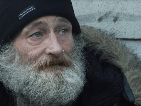 Heroin addict spends 51st birthday begging for drugs in heartbreaking documentary
