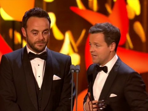Ant and Dec win first ever Bruce Forsyth Entertainment Award at 2018 National Television Awards