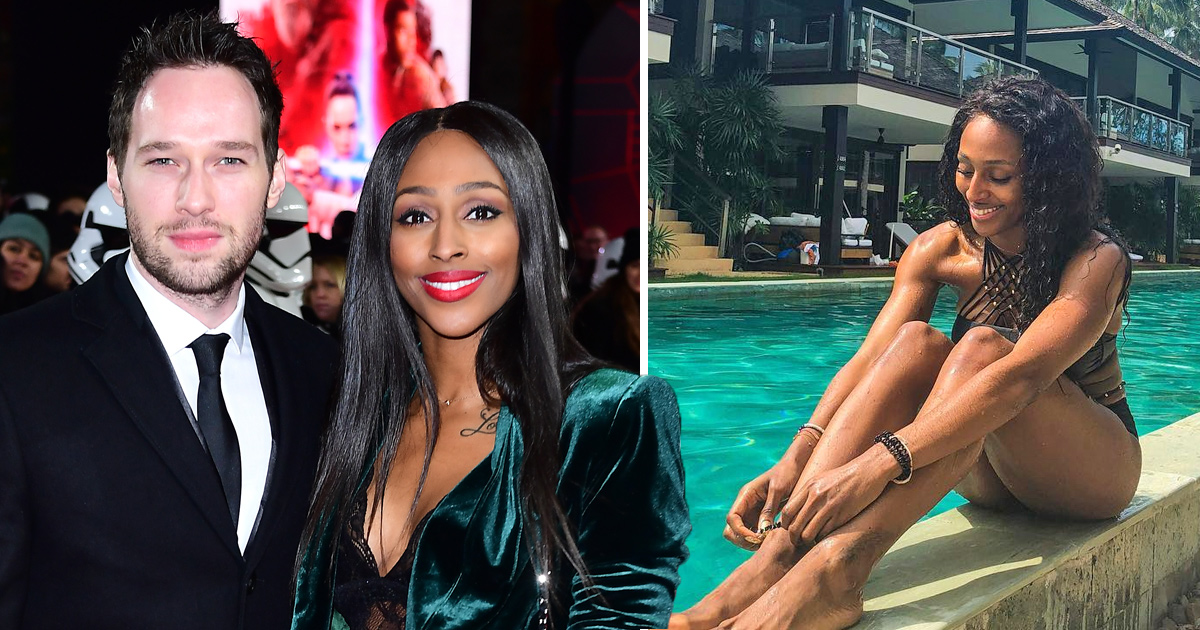 Alexandra Burke reveals ringless left hand as she keeps us guessing about engagement to Josh Ginnelly