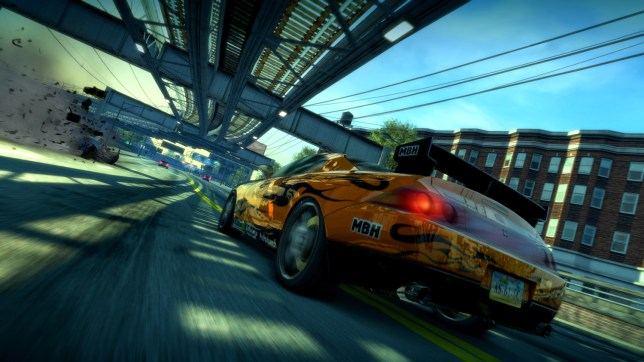Burnout Paradise Remastered straight in at number 1 in UK